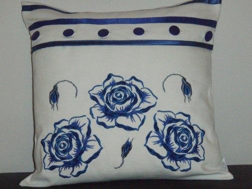 Ruusutyyny sininen