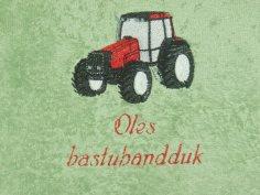 Traktoripyyhe